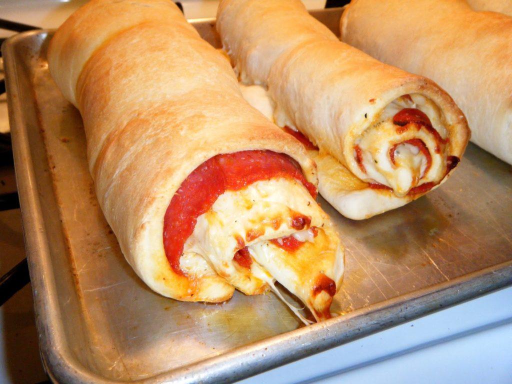 Easy Cheesy Pepperoni Twist Rolls