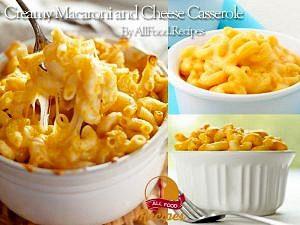 Baked Creamy Macaroni and Cheese Casserole