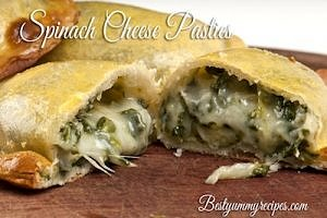 Spinach Cheese Pasties