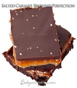 Salted Caramel Brownie Perfection