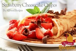 Strawberry Cheesecake Crepes