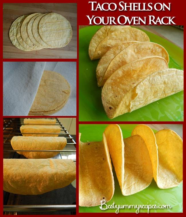 Taco Shells on Your Oven Rack