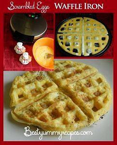 Scrambled Eggs Waffle Maker