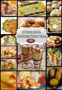 15 Super Bowl Appetizer/Treat Ideas
