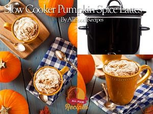 Slow-Cooker Pumpkin Spice Latte